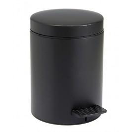 Κάδος Απορριμάτων (20x28) PamCo 5Lit 96 Black Matte