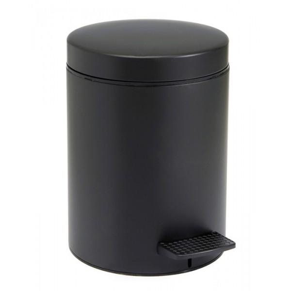 Κάδος Απορριμμάτων (20x28) Pam & Co 5Lit 96 Black Matte