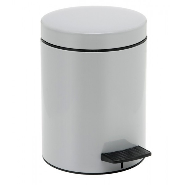 Κάδος Απορριμμάτων (20x28) PamCo 5Lit 96 Grey