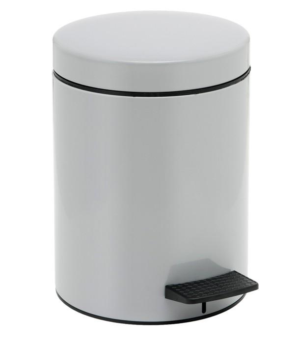 Κάδος Απορριμάτων (20x28) PamCo 5Lit 96 Grey