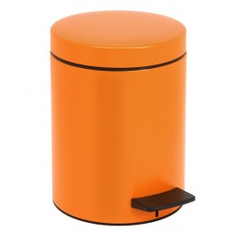 Κάδος Απορριμάτων (20x28) PamCo 5Lit 96 Orange Matte