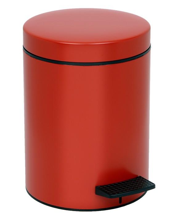 Κάδος Απορριμάτων (20x28) PamCo 5Lit 96 Red
