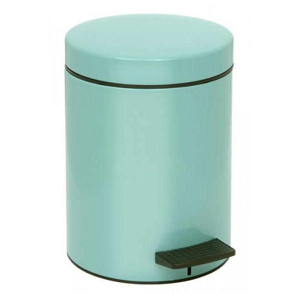 Κάδος Απορριμμάτων (20x28) PamCo 5Lit 96 Turquoise
