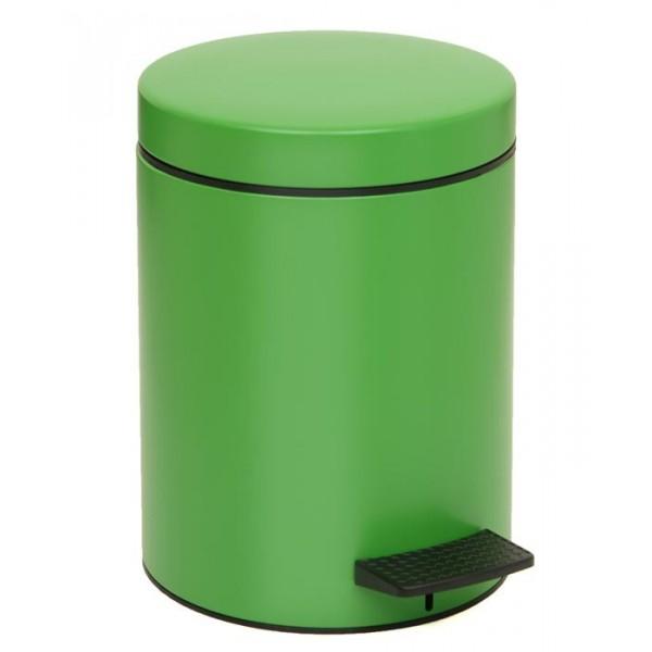 Κάδος Απορριμμάτων (20x28) PamCo 5Lit 96 Verde Matte