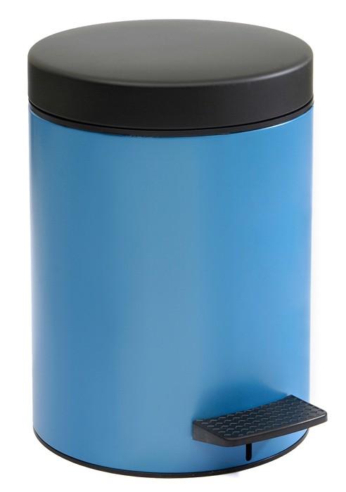Κάδος Απορριμάτων (20x28) PamCo 5Lit 97 Blue Matte