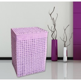 Καλάθι Απλύτων 43x33x63 San Lorentzo Square Purple