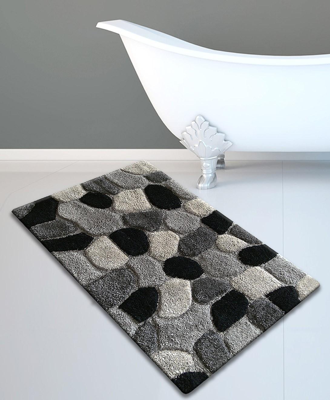 Πατάκι Μπάνιου (50x80) San Lorentzo Stones Grey