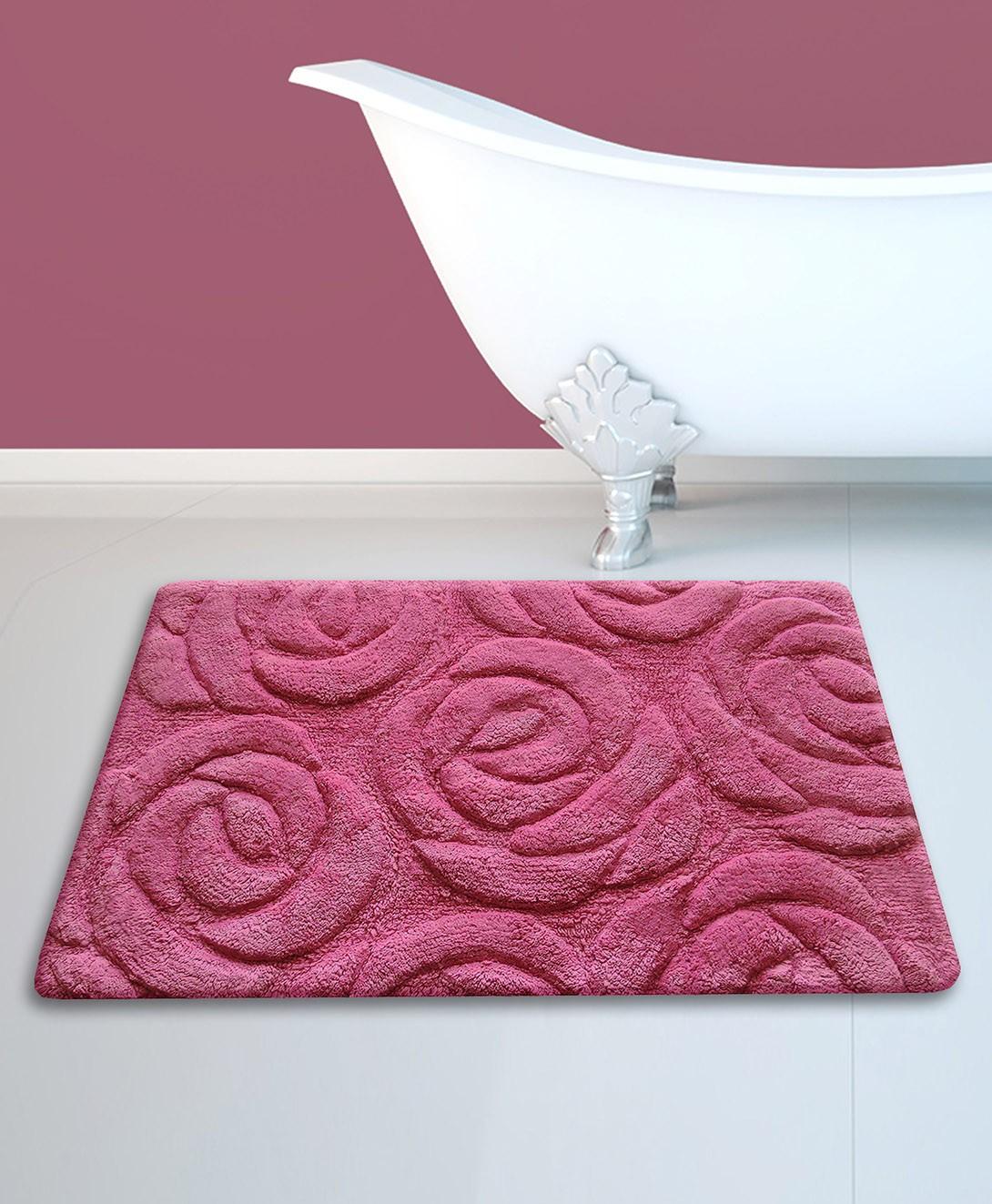 Πατάκι Μπάνιου (50x80) San Lorentzo 195 Rose Magenta