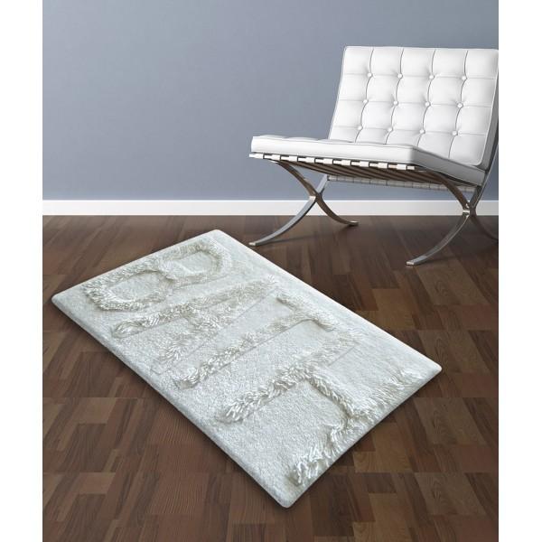 Πατάκι Μπάνιου (50x80) San Lorentzo 623 Bath White