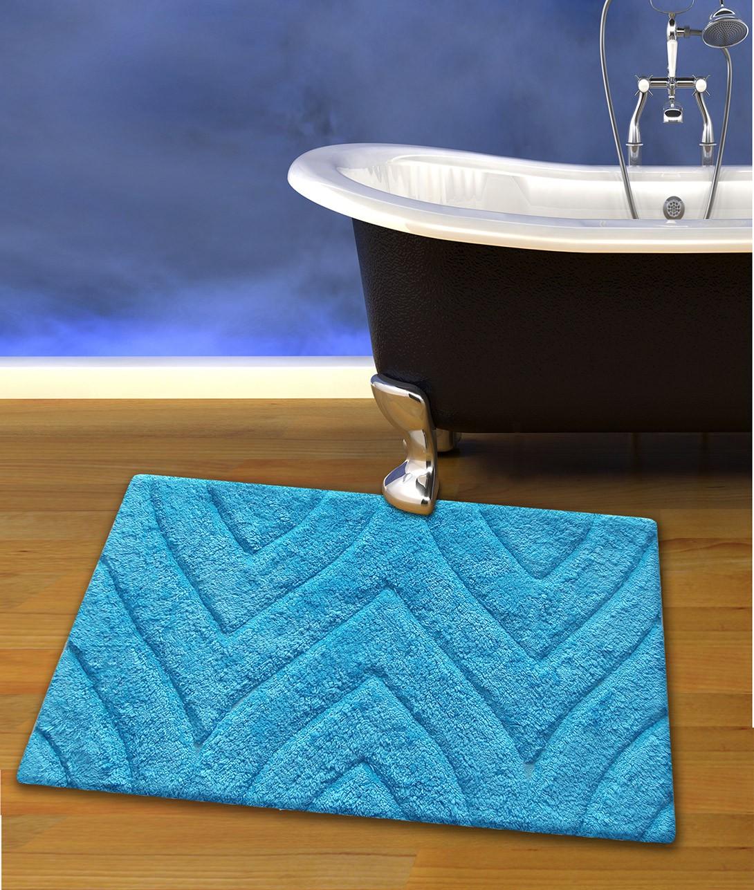 Πατάκι Μπάνιου (50×80) San Lorentzo 105 Turquoise