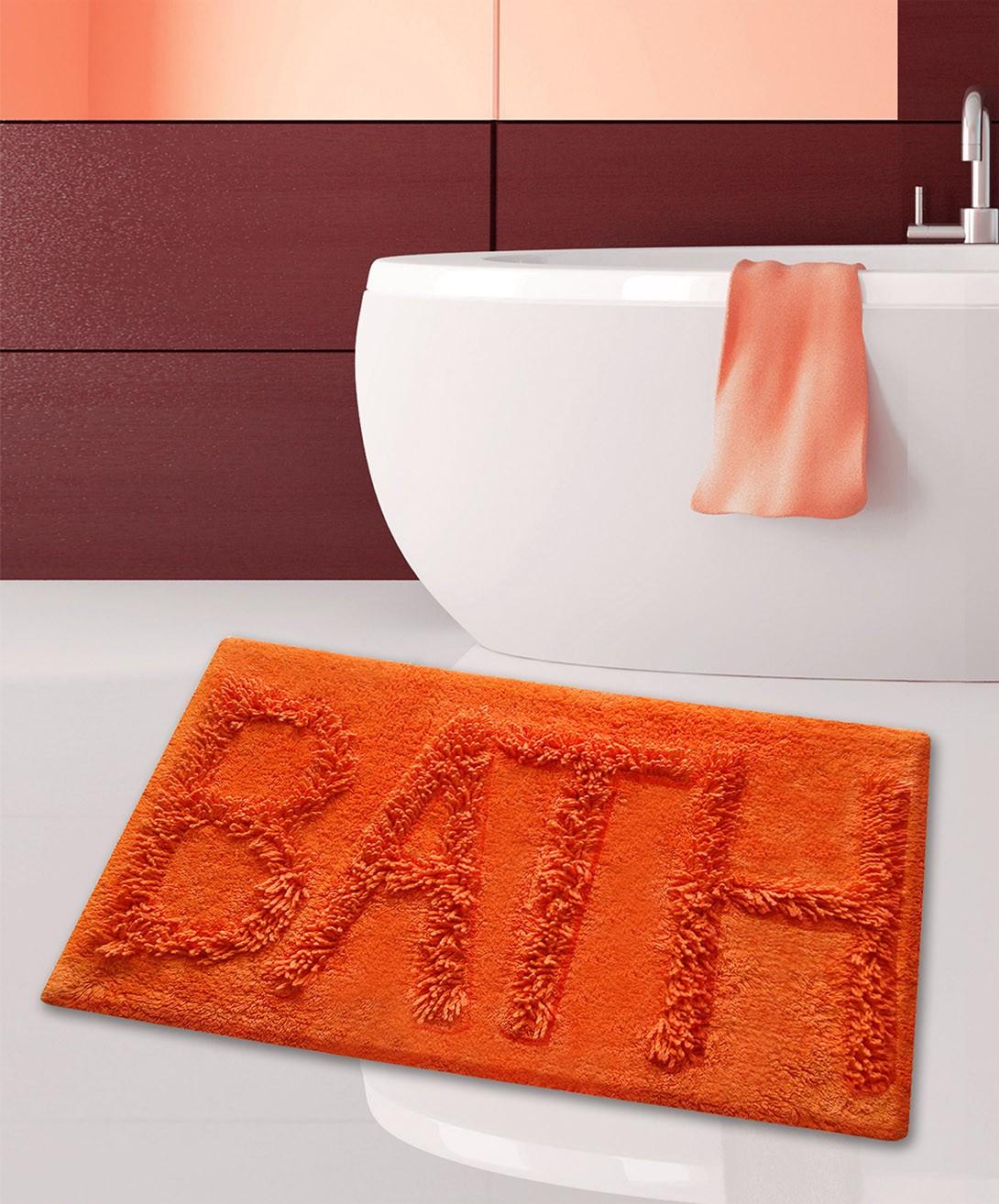 Πατάκι Μπάνιου (50x80) San Lorentzo 623 Bath Orange