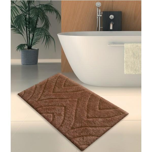 Πατάκι Μπάνιου (50x80) San Lorentzo 105 Brown