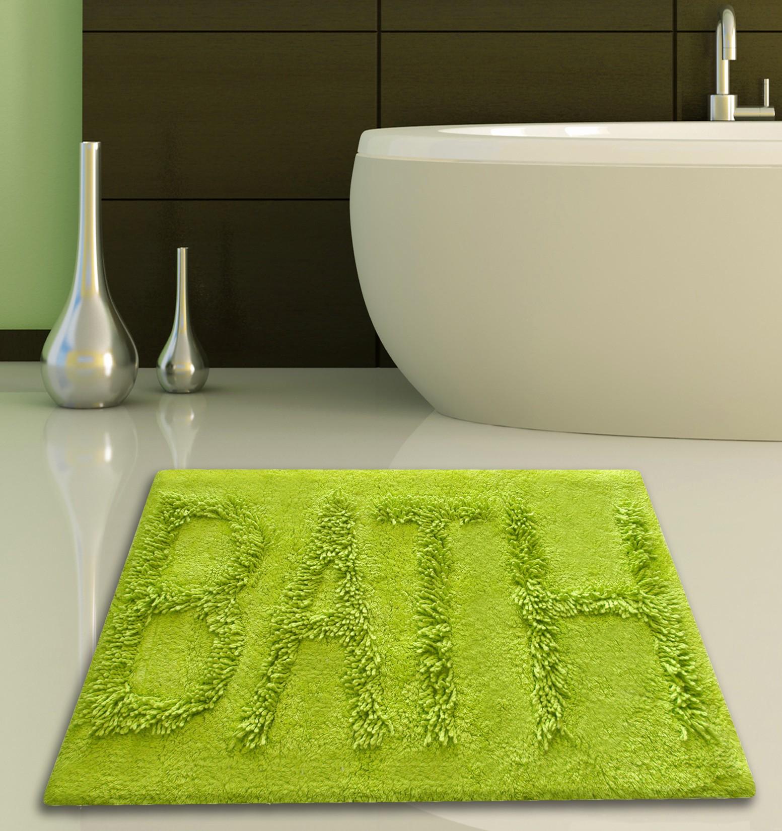 Πατάκι Μπάνιου (50x80) San Lorentzo 623 Bath Lime
