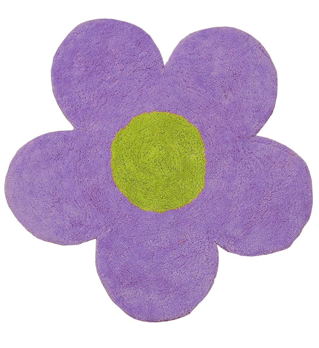 Πατάκι Μπάνιου San Lorentzo DBL Face Daisy Purple/Green