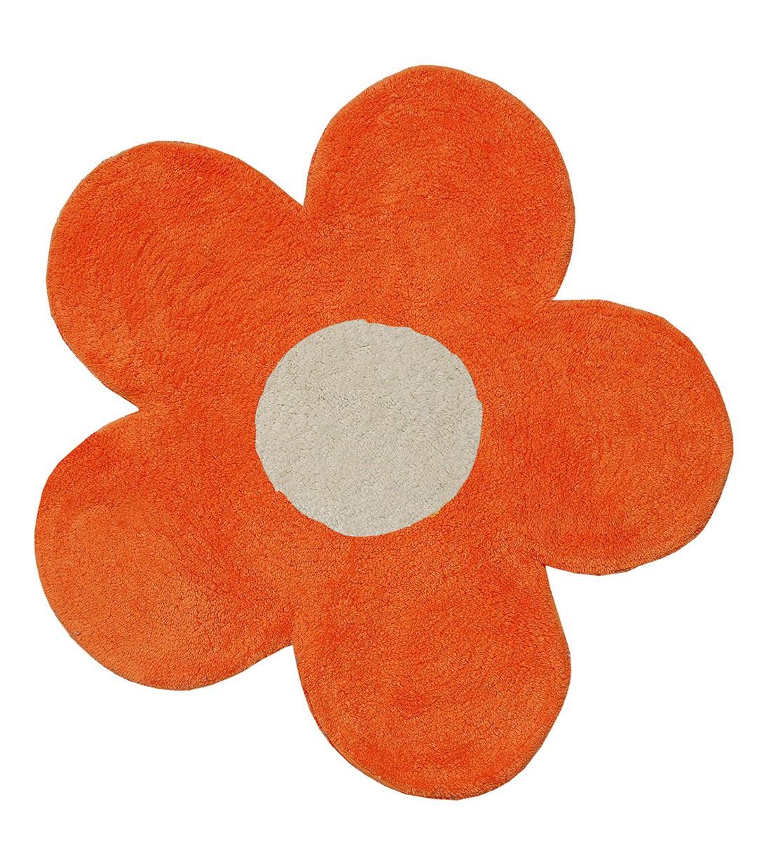 Πατάκι Μπάνιου San Lorentzo DBL Face Daisy Orange/Ecru