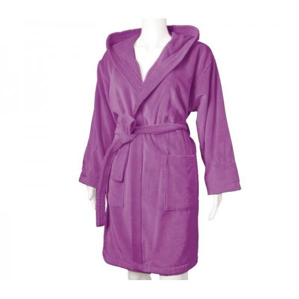 Μπουρνούζι Με Κουκούλα Nef-Nef Style L. Purple