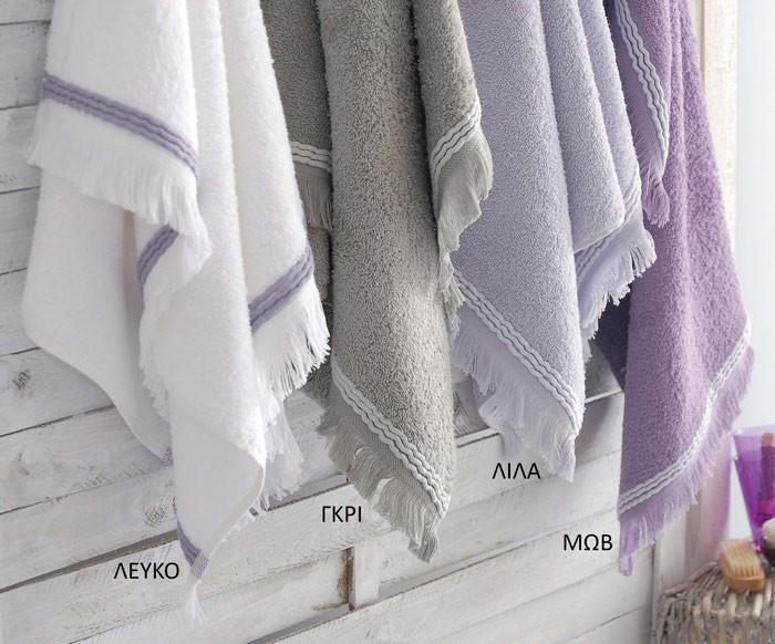 Πετσέτα Προσώπου (50×90) Rythmos Musk