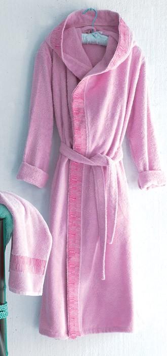 Μπουρνούζι Rythmos Boheme Pink X-Large X-Large