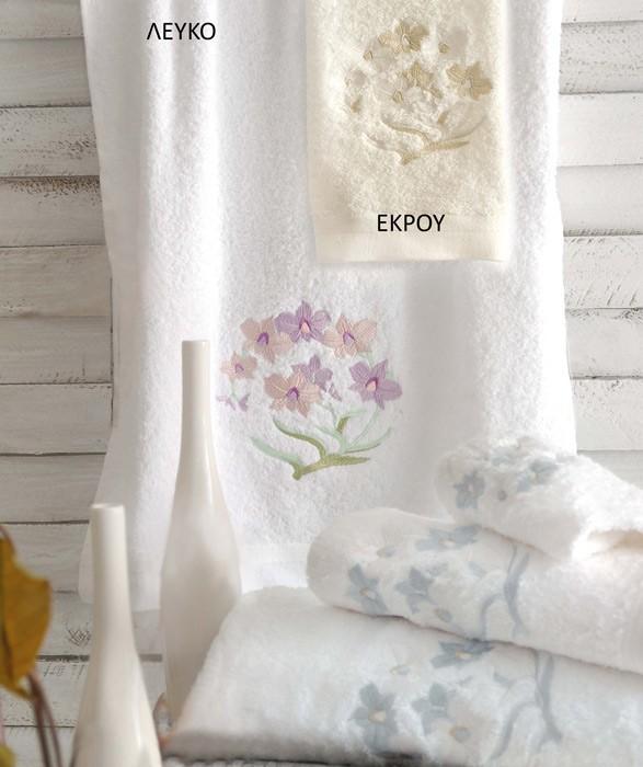 Πετσέτες Μπάνιου (Σετ 3τμχ) Rythmos Thera