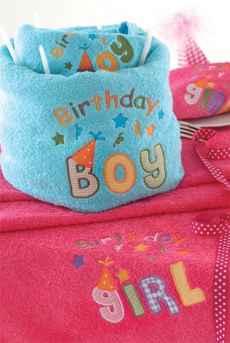 Παιδικές Πετσέτες (Σετ) Rythmos Happy Birthday