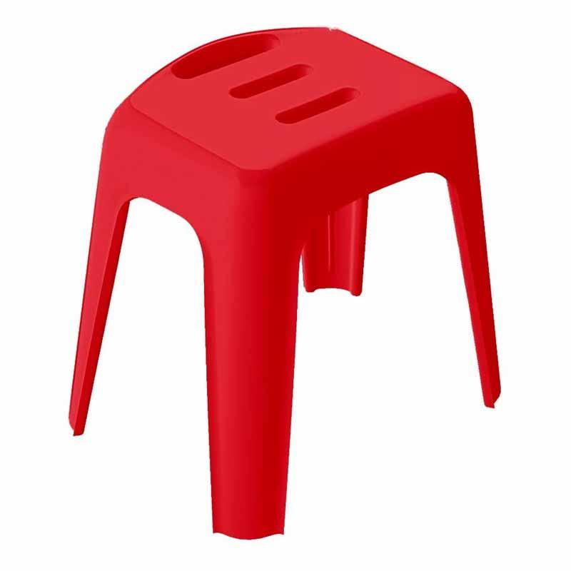 Σκαμπό Μπάνιου Spirella 05110.002 VivaWell Red