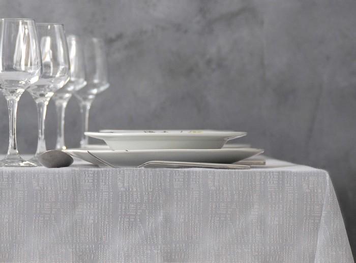 Πετσέτα Φαγητού (45x45) Rythmos Satin Alter Grey