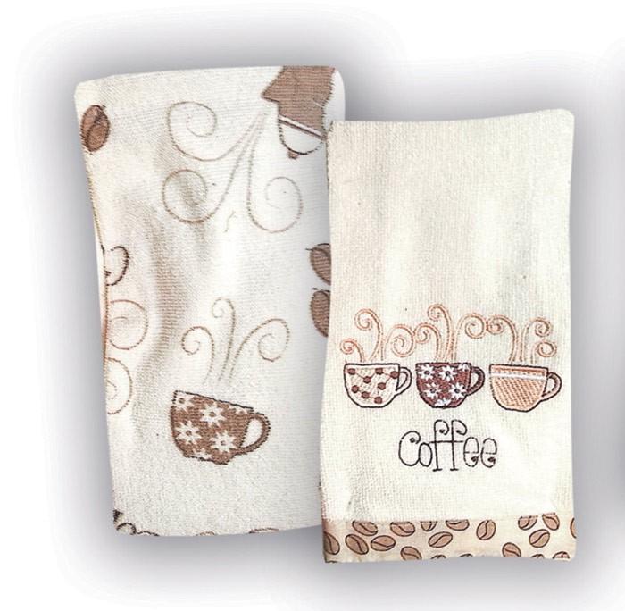 Πετσέτες Κουζίνας (Σετ 2τμχ) Rythmos Coffee home   κουζίνα   τραπεζαρία   πετσέτες κουζίνας