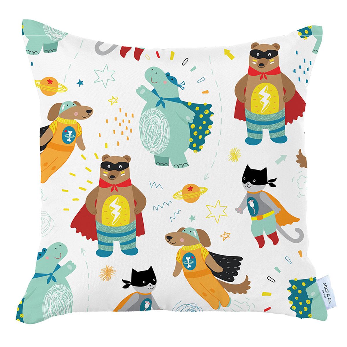 Διακοσμητική Μαξιλαροθήκη (35×35) Mike & Co Toddle Hero 160-3853