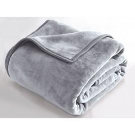 Κουβέρτα Βελουτέ Υπέρδιπλη Rythmos Charlize 02 Grey