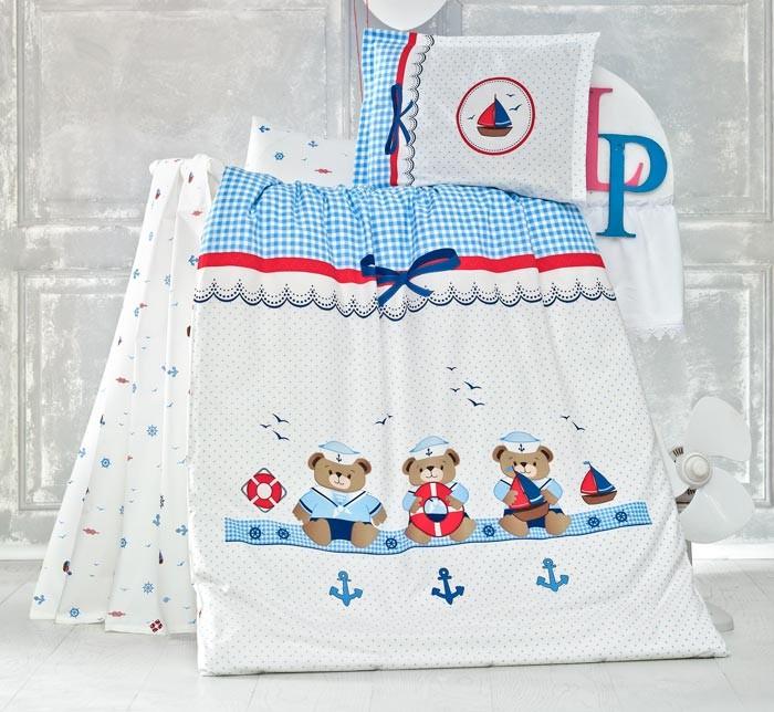 Σεντόνια Κούνιας (Σετ) Rythmos Sailor