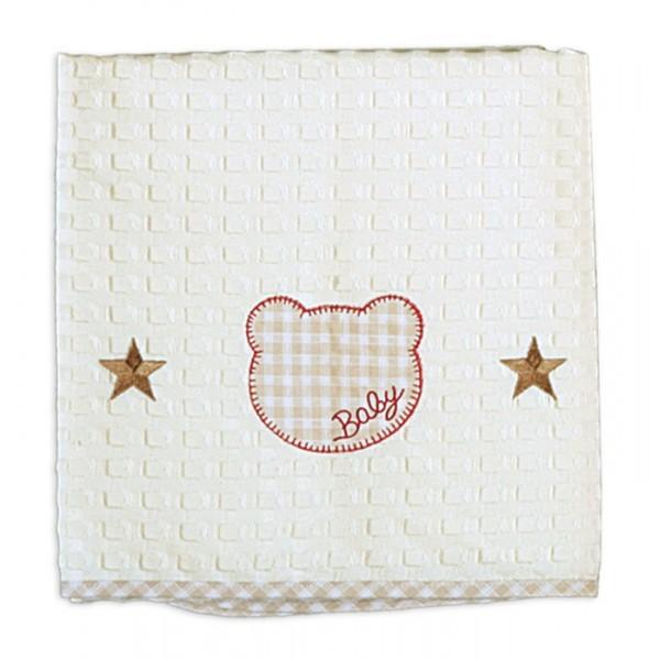 Κουβέρτα Πικέ Αγκαλιάς Nef-Nef Chic Bear