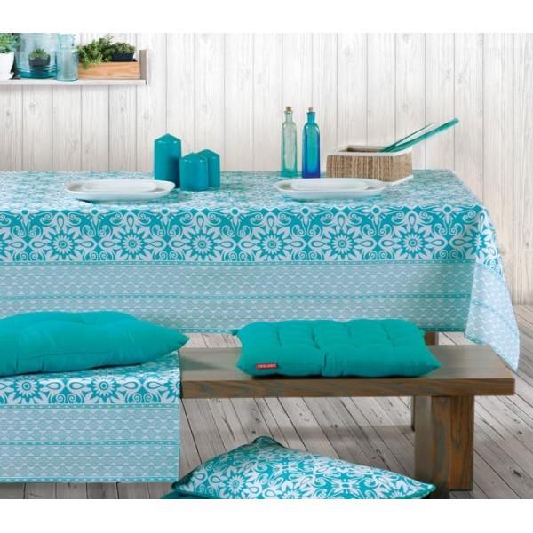 Τραπεζομάντηλο (140x240) Nef-Nef Kitchen Ethnic Turquoise