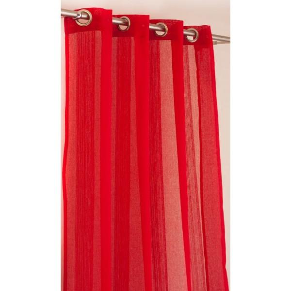 Κουρτίνα (150x260) Με Τρουκς K-0514 Red