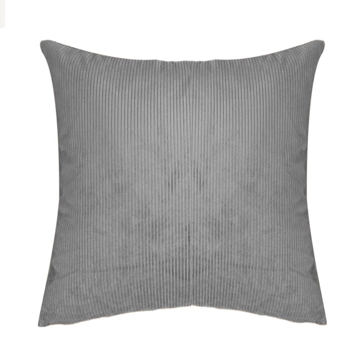Διακοσμητική Μαξιλαροθήκη (45×45) Elite Kotle Grey