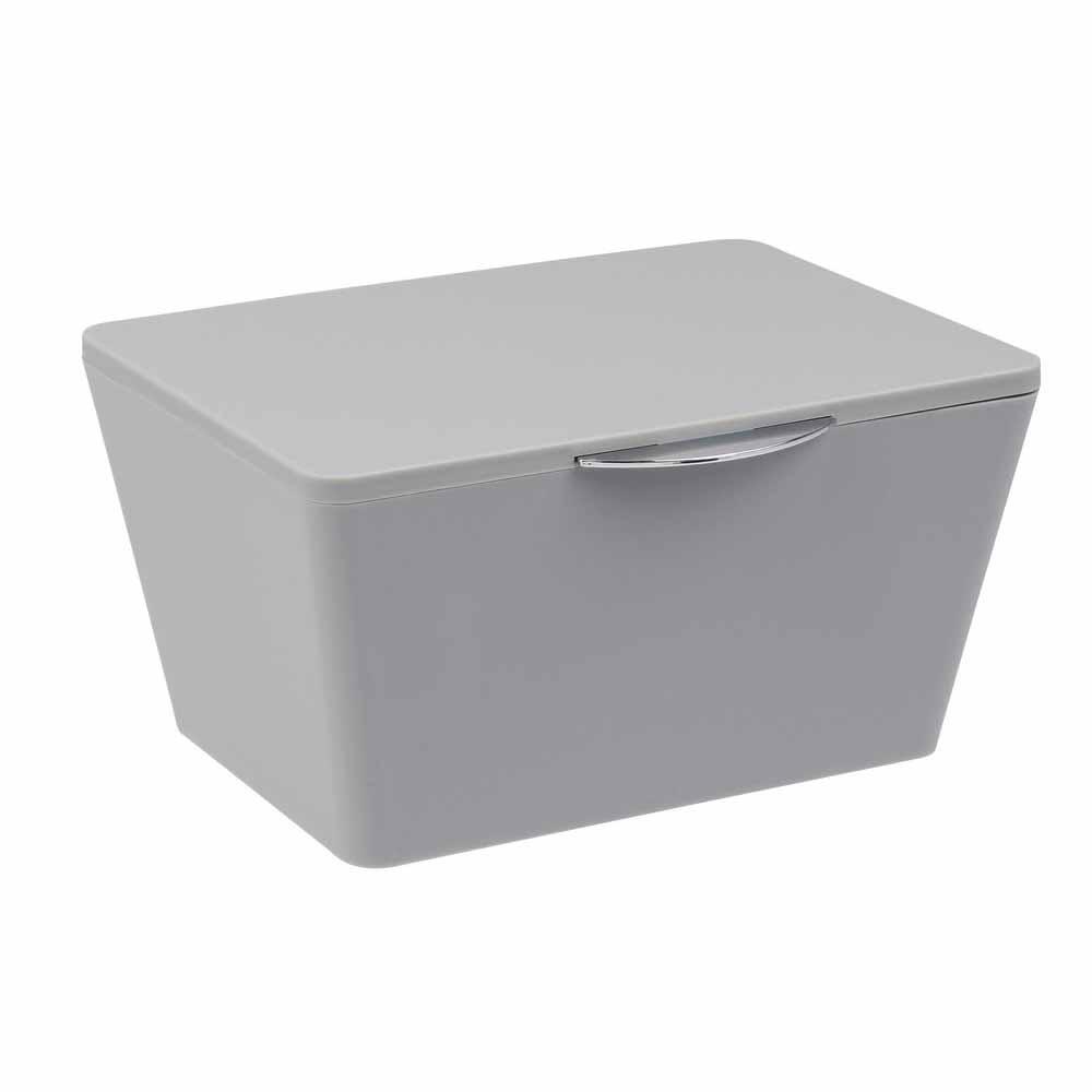 Κουτί Αποθήκευσης (19×15.5×10) Wenko Brasil Grey 22599100