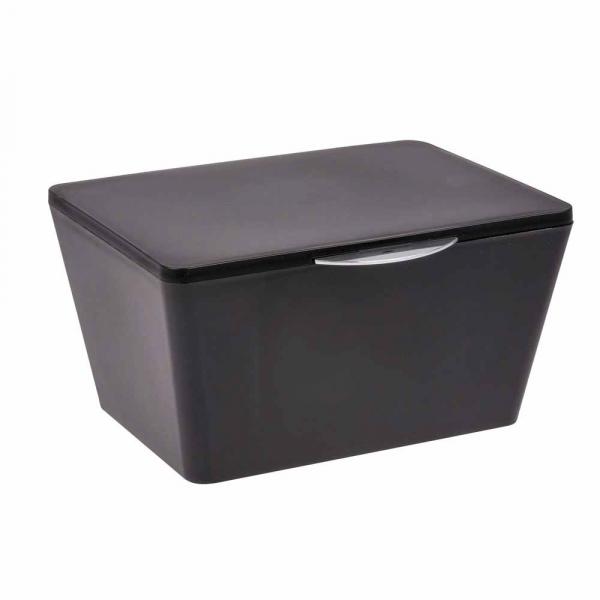 Κουτί Αποθήκευσης (19x15.5x10) Wenko Brasil Black 22602100