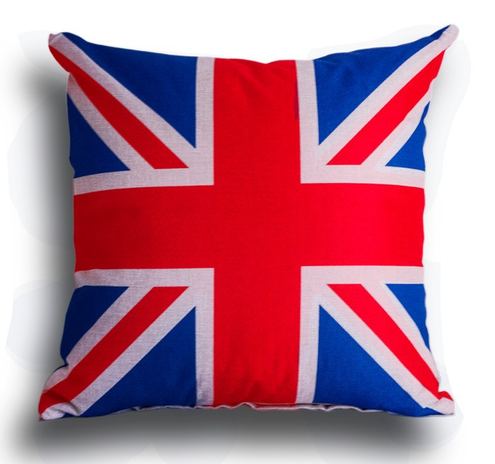 Διακοσμητική Μαξιλαροθήκη Union Jack 13261