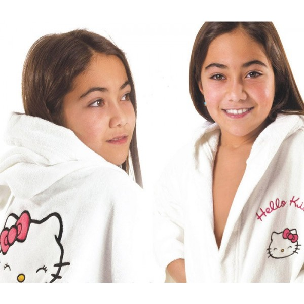 Παιδικό Μπουρνούζι Hello Kitty HK51
