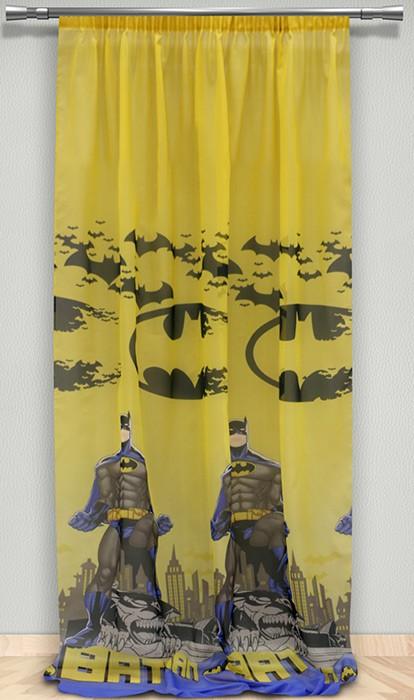 Παιδική Κουρτίνα (145×290) Maison Blanche Batman