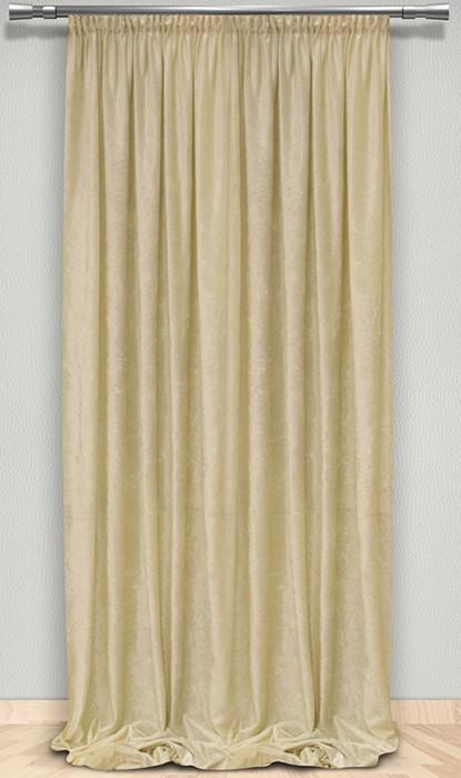 Κουρτίνα (145x300) Βελουτέ Maison Blanche 702375202