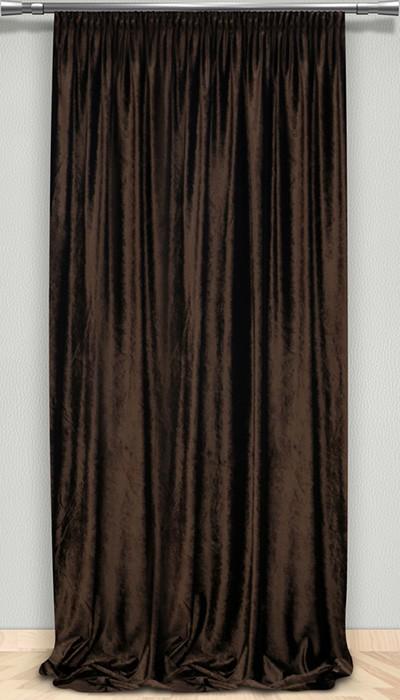 Κουρτίνα (145x300) Βελουτέ Maison Blanche 702375203