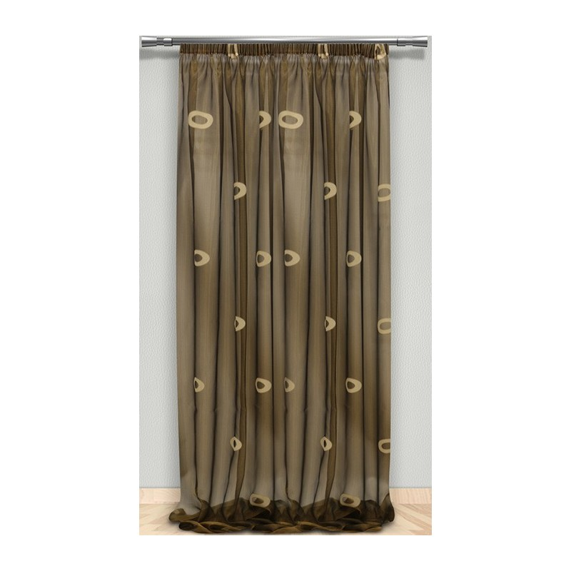 Κουρτίνα (145x310) Με Τρέσα Maison Blanche 7024008606