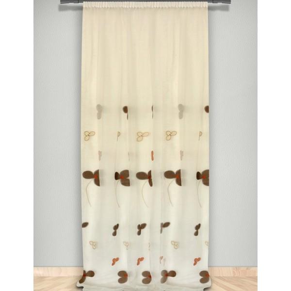 Κουρτίνα (145x300) Με Τρέσα Maison Blanche 702002102