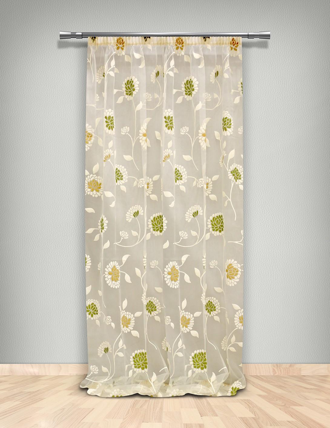 Κουρτίνα (145×300) Με Τρέσα Maison Blanche 7020023003
