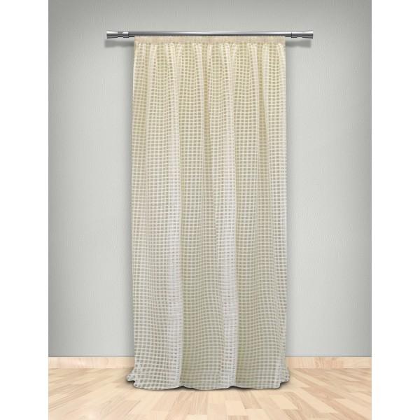 Κουρτίνα Δίχτυ (145x280) Με Τρέσα Maison Blanche 702103101