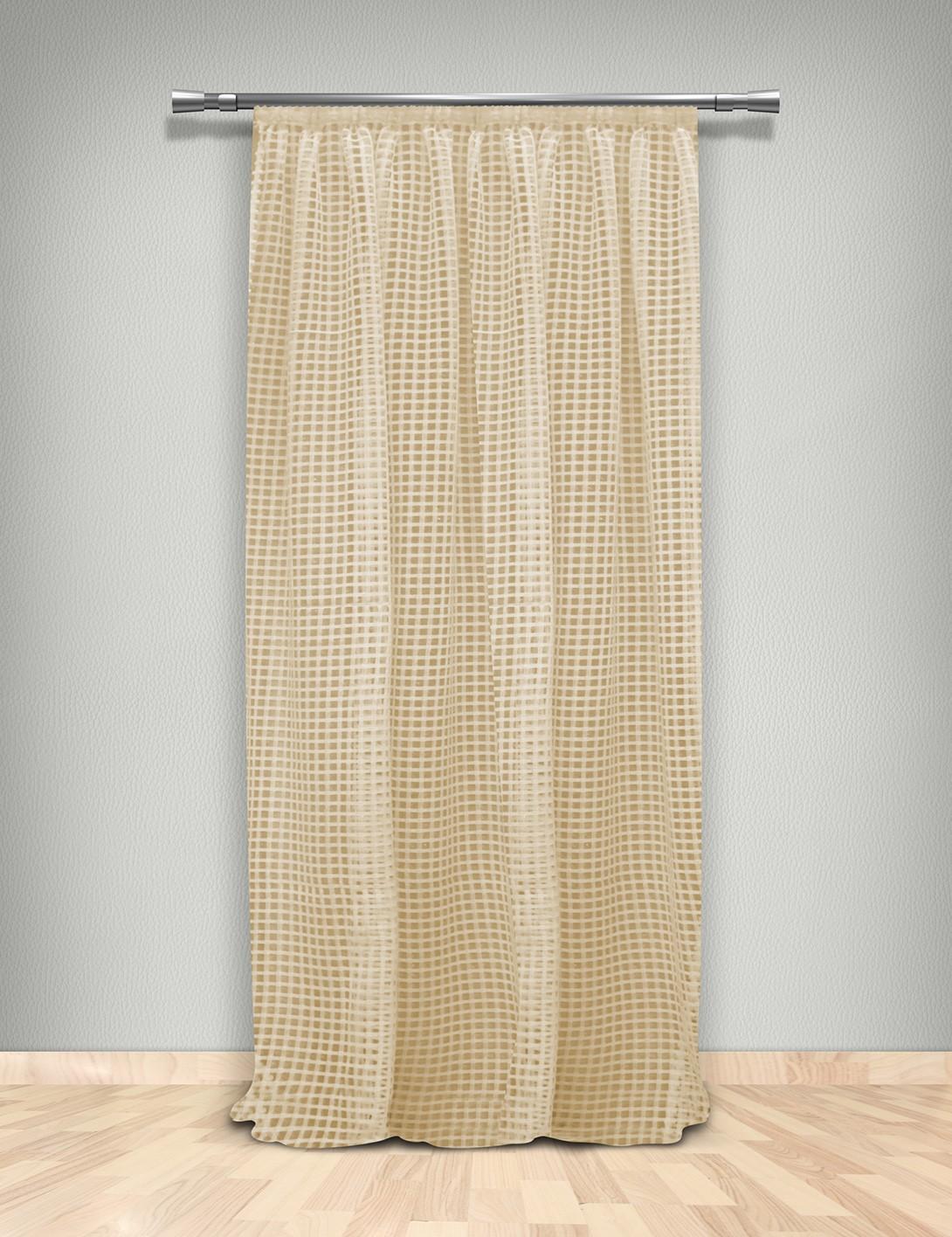 Κουρτίνα Δίχτυ (145×280) Με Τρέσα Maison Blanche 702103804