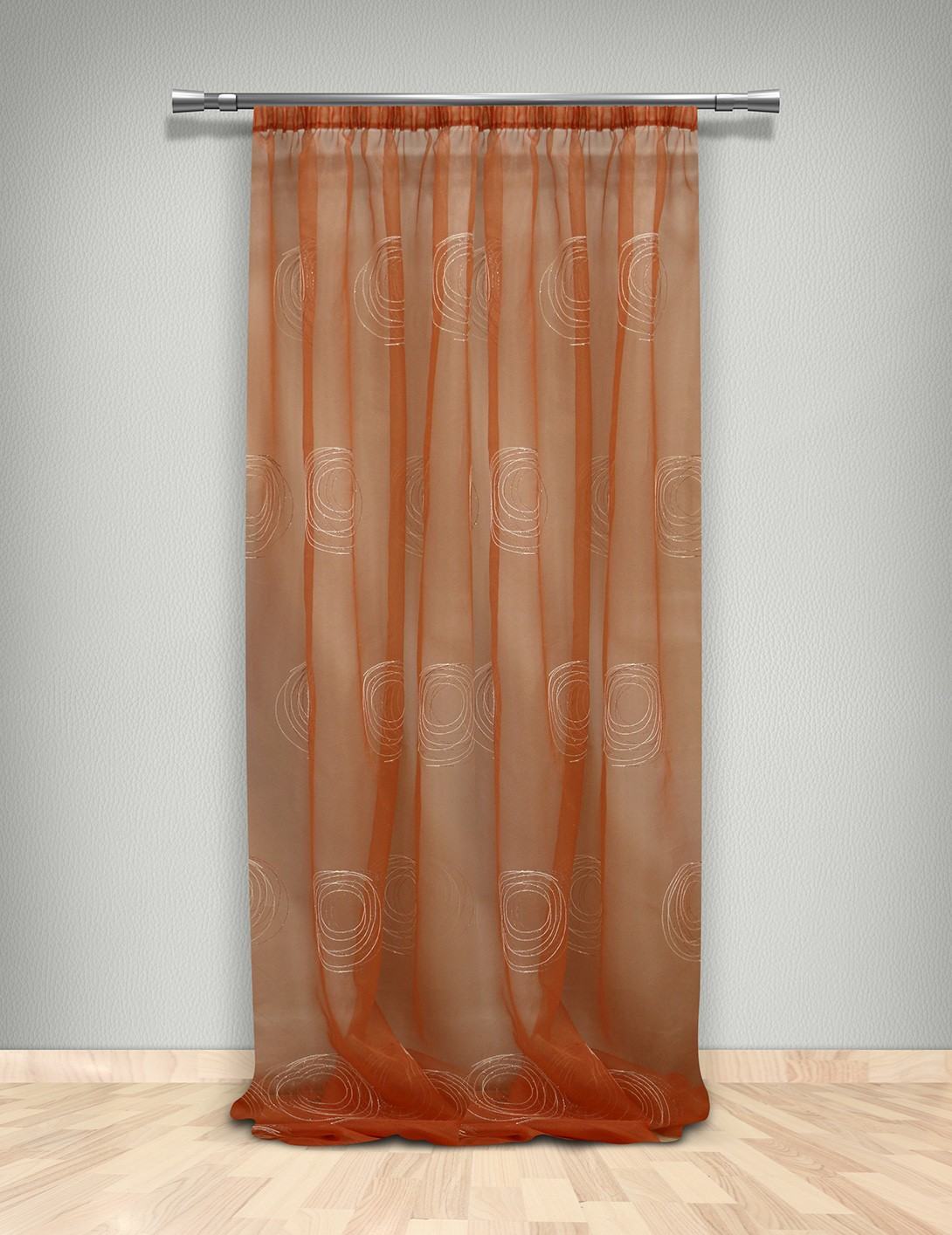 Κουρτίνα (145×300) Με Τρέσα Maison Blanche 7024604003