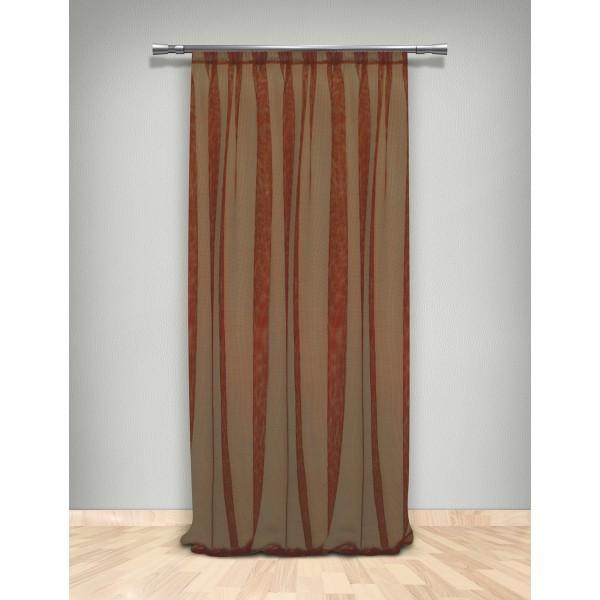 Κουρτίνα Δίχτυ (145x300) Με Τρέσα Maison Blanche 7026311518