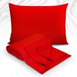 Σεντόνι Υπέρδιπλο Maison Blanche 11016 Κόκκινο