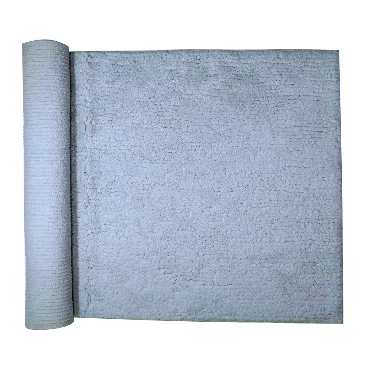 Πατάκι Μπάνιου (45×80) Morven All Γκρι
